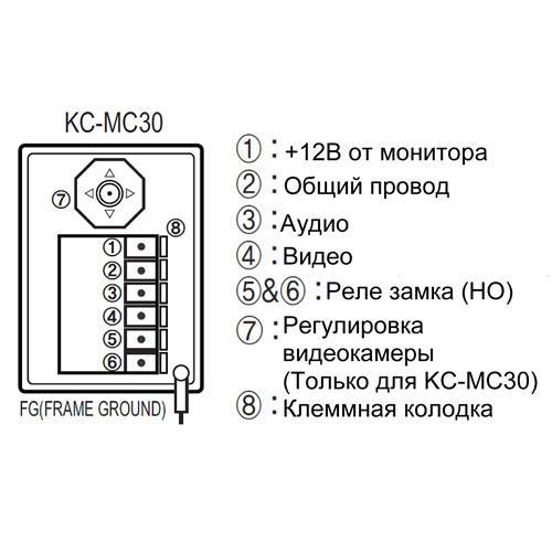 Kocom KC-MC30 схема